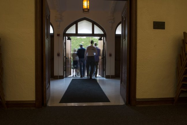 Open Church Doors they're facing outward: our google search for 'open church doors