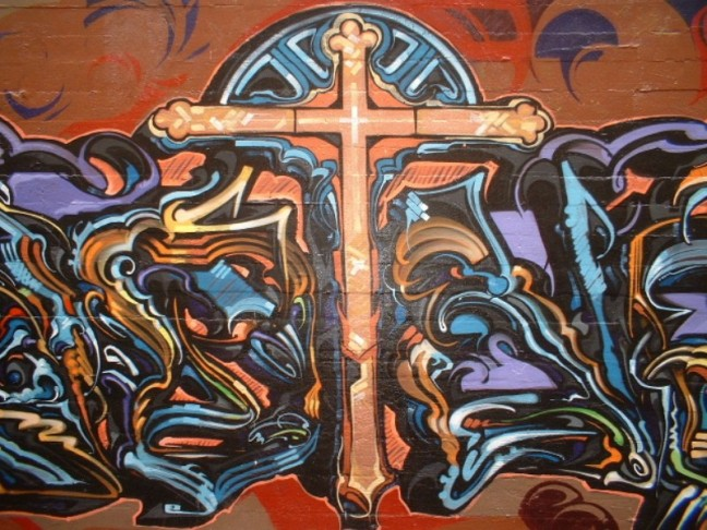 Graffiti_Cross,_Downtown_San_Francisco